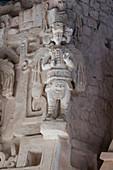 Mayan deities, Temple of El Trono, Ek Balam, Mexico