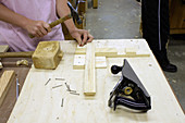 Carpentry apprentice