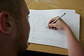 Graphic designs student