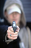 Youth gun crime victim