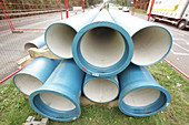 Water main pipes