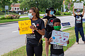 Teacher protest during Covid-19 outbreak