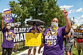 Black Lives Matter protest, Detroit, USA
