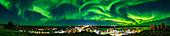 Aurora over Yellowknife, Canada