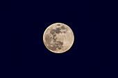 Equinoctial full Moon, March 20, 2019