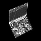 Laptop computer, X-ray
