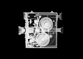 Vintage Newman G film camera, X-ray