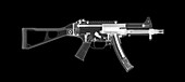 UMP45 submachine gun, X-ray