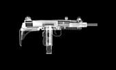 UZI gun, X-ray