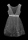 Laced lined dress, X-ray