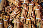 Bundles of cinnamon sticks (Sri Lanka)