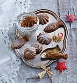 Old Bohemian bear paws (Christmas cookies)
