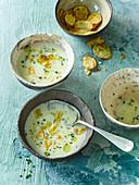 Vichyssoise - French leek soup