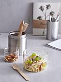 Salad Waldorf with walnuts