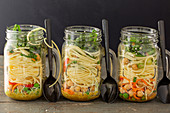 Prepared Noodle Lunch Jars