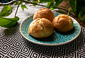 Cream Puff Profiteroles - Step by step