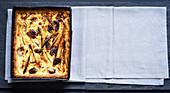 Pikante Tarte mit Wurzelgemüse und und Gorgonzola