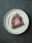 Pork rib chop