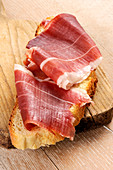 Prosciutto di Norcia (raw ham from Umbria, Italy)