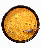 Farinata (Pfannkuchen aus Kichererbsenmehl, Italien)