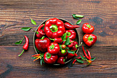 Red pepper and chilli variety