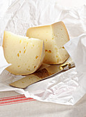 Toma piemontese (hard cheese from Piedmont, Italy)