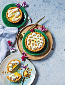 Ultimate lemon meringue tarteletts