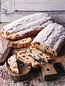 Rhenish Christmas stollen