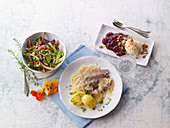 Summer menu from North Rhine-Westphalia