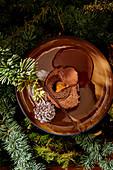 Buche De Noel (Christmas Swiss roll, France)