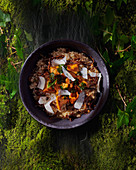Risotto with chanterelles and parmesan