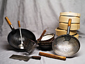 Basic equipment for making Chinese food