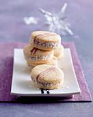 Alfajores – Argentinian caramel biscuits