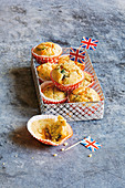 Cheddar and spinach muffins (football evening)