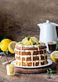 Zitronenkuchen mit Lemon Curd