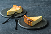 Quick, gluten-free baseless cheesecake