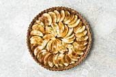 Autumnal apple tart (gluten-free)