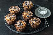 Blueberry muffins (gluten-free)