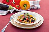 Sommerliches Ratatouille-Gemüse