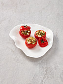 Stuffed tomatoes with bulgur