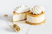 Vanilla ricotta cheesecake
