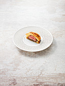 Mini veal Wellington with Parma ham