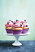 Blueberry cupcakes (vegan)