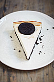 Vegan Oreo 'cheesecake'