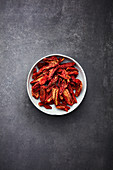 Dried plum tomatoes