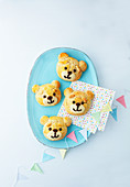 Teddy bear scones