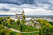 The former Michaelsberg Abbey in Siegburg, North Rhine-Westphalia, Germany