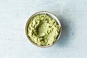 Broccoli and edamame spread