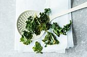 Curries kale crisps