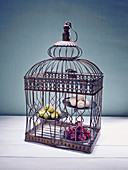 Laddu (Indian dessert) in a cage